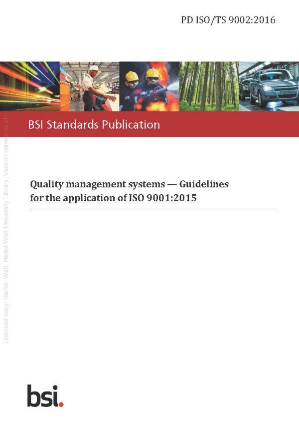 دانلود رایگان استاندارد ایزو 9002
